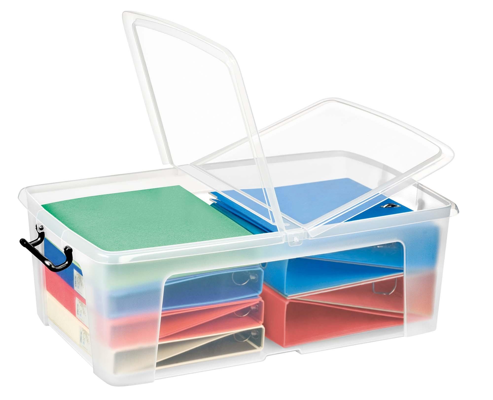 Plastové boxy, krabice, košíky