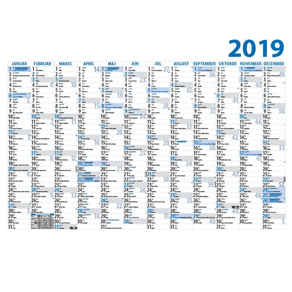 Kalendárové podložky na stôl, plánovacie mapy