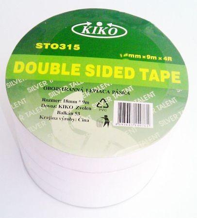Obojstranné pásky