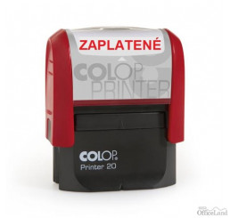 COLOP Printer 20 ZAPLATENÉ