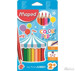 Farbičky Maped Color'peps MAXI / 12