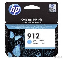 HP originál ink 3YL77AE#301, HP 912, cyan, blister, 315str., high capacity, HP Officejet 8012, 8013, 8014, 8015 Officejet Pro 802