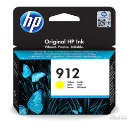 HP originál ink 3YL79AE#301, HP 912, yellow, blister, 315str., high capacity, HP Officejet 8012, 8013, 8014, 8015 Officejet Pro 80