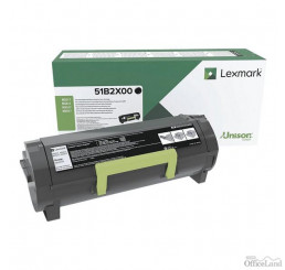 Lexmark originál toner 51B2X00, black, 20000str., return, Lexmark MS517dn, MX517de, MS617dn, MX617de