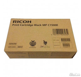 Ricoh originál ink 888547, black, 9000str., Ricoh MP C 1500