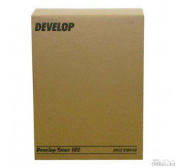 Develop originál toner 8935 2100 01, black, 12000str., 102, Develop 1501, 1800, 2150,  EP-1052, 1083, 2010, 2x240g