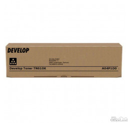 Develop originál toner A04P1D0, black, 35000str., TN-610K, Develop Ineo +6500