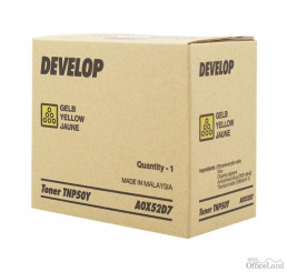 Develop originál toner A0X52D7, yellow, 5000str., TNP-50Y, Develop Ineo +3100P