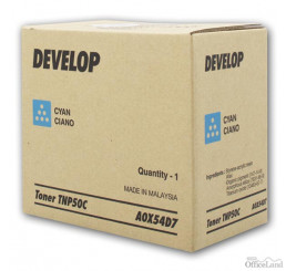 Develop originál toner A0X54D7, cyan, 5000str., TNP-50C, Develop Ineo +3100P