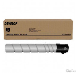Develop originál toner A33K1D2, black, 27500str., TN-512K, Develop Ineo +454, +455