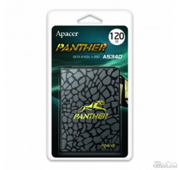 "Interný disk SSD Apacer 2.5"", SATA III, 120GB, AS340, AP120GAS340G-1 500 MB/s,550 MB/s, Panther"