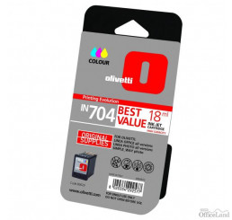 Olivetti originál ink B0629, color, 18ml, high capacity, Olivetti Olivetti Linea Office/ Olivetti Linea Office Wifi