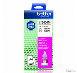 Brother originál ink BT-5000M, magenta, 5000str., Brother DCP T300, DCP T500W, DCP T700W