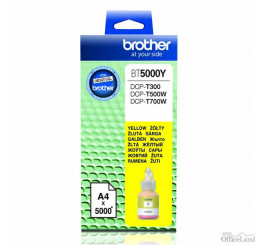 Brother originál ink BT-5000Y, yellow, 5000str., Brother DCP T300, DCP T500W, DCP T700W