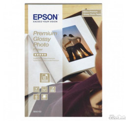 "Epson Premium Glossy Photo Paper, foto papier, lesklý, biely, Stylus Color, Photo, Pro, 10x15cm, 4x6"", 255 g/m2, 40 ks, C13S042153"