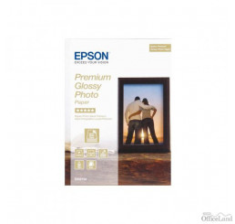 "Epson Premium Glossy Photo Paper, foto papier, lesklý, biely, Stylus Color, Photo, Pro, 13x18cm, 5x7"", 255 g/m2, 30 ks, C13S042154"