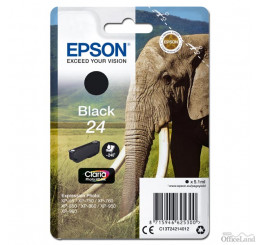 Epson originál ink C13T24214012, T2421, black, 5,1ml, Epson
