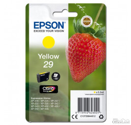 Epson originál ink C13T29844012, T29, yellow, 3,2ml, Epson Expression Home XP-235,XP-332,XP-335,XP-432,XP-435