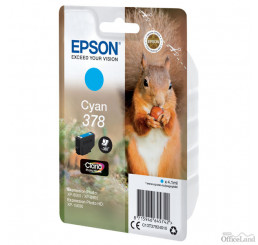 Epson originál ink C13T37824010, cyan, 4.1ml, Epson Expression Photo XP-8500, XP-8505