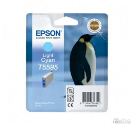 Epson originál ink C13T55954010, light cyan, 13ml, Epson Stylus Photo RX700