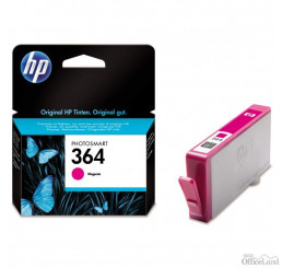 HP originál ink CB319EE, HP 364, magenta, blister, 300str., HP Photosmart B8550, C5380, D5460