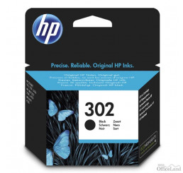 HP ink F6U66AE, HP 302, black, blister, 190str., 3.5ml, HP OJ 3830,3834,4650, DJ 2130,3630,1010, Envy 4520