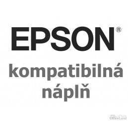 Kompatibil Atramentová cartridge Epson T0611, black