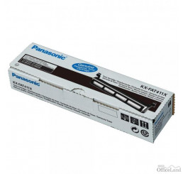 Panasonic originál toner KX-FAT411X, black, 2000str., Panasonic KX-MB2000, 2010, 2025, 2030, 2061, O