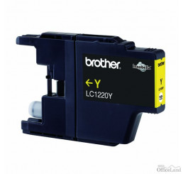 Brother originál ink LC-1220Y, yellow, 300str., Brother DCP-J925 DW