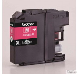 Brother originál ink LC-525XLM, magenta, 1300str., Brother DCP J100, DCP J105, MFCJ200