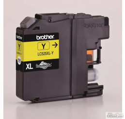 Brother originál ink LC-525XLY, yellow, 1300str., Brother DCP J100, DCP J105, MFCJ200