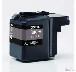 Brother originál ink LC-529XLBK, black, 2400str., Brother DCP J100, DCP J105, MFCJ200