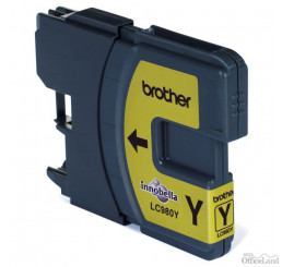 Brother originál ink LC-980Y, yellow, 260ml, Brother DCP-145C, 165C