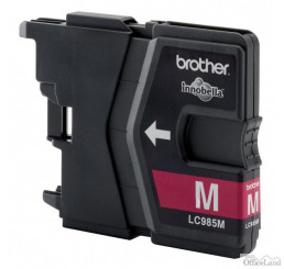 Brother originál ink LC-985M, magenta, 260str., Brother DCP-J315W