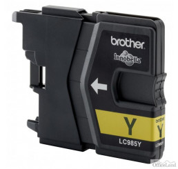 Brother originál ink LC-985Y, yellow, 260str., Brother DCP-J315W