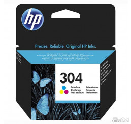 HP originál ink N9K05AE#301, HP 304, Tri-color, blister, 100str., HP DeskJet 2620,2630,2632,2633,3720,3730,3732,3735