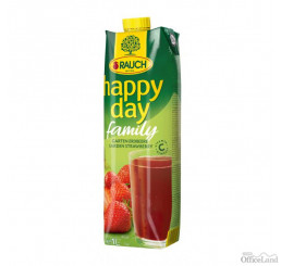 Džús Happy Day Family Jahoda 50% 1l