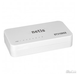 NETIS stolový switch ST3108GS 1000Mbps, auto MDI/MDIX , plug-and-play