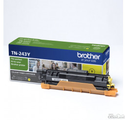 Brother originál toner TN243Y, yellow, 1000str., Brother DCP-L3500, MFC-L3730, MFC-L3740, MFC-L3750