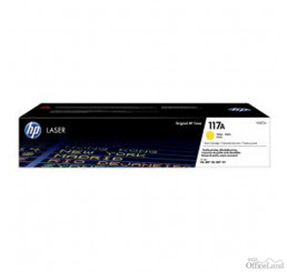 HP originál toner W2072A, yellow, 700str., HP 117A, HP Color LaserJet MFP179 Series
