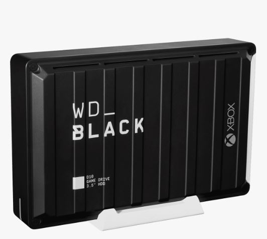 """Ext. HDD 3,5"""" WD_BLACK 12TB D10 Game Drive XboxOne"""